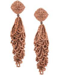 Sachin & Babi - Beaded Chandelier Earrings - Lyst