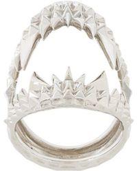 Kasun - Vampire Biter Ring - Lyst