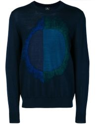 PS by Paul Smith - Circle Design Jumper - Lyst