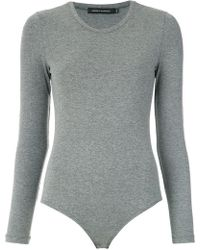 Andrea Marques - Long Sleeves Bodysuit - Lyst