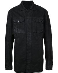Boris Bidjan Saberi 11 - Creased Button Down Shirt - Lyst