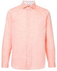 Loveless - Lightweight Plain Shirt - Lyst