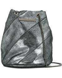 Marc Ellis - Drawstring Panelled Shoulder Bag - Lyst