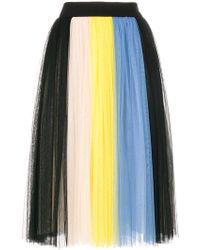 Fausto Puglisi - Pleated Skirt - Lyst