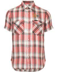 Hysteric Glamour - Plaid Short-sleeve Shirt - Lyst