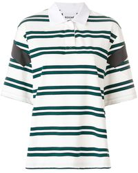 Koche - Striped Polo Shirt - Lyst
