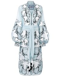 Yuliya Magdych - Gooseberry Embroidered Dress - Lyst