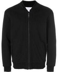 Les Benjamins - Front Zip Sweatshirt - Lyst