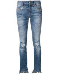 Just Cavalli - Distressed Skinny Jeans - Lyst