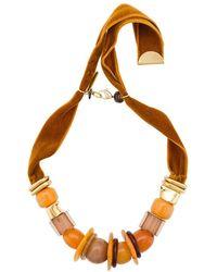Lizzie Fortunato | Collana 'amber Savanna' Con Pietre | Lyst