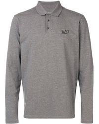 EA7 - Классическая Рубашка-поло - Lyst