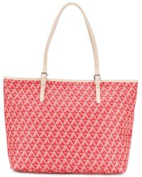 Lancaster - Geometric Pattern Tote - Lyst