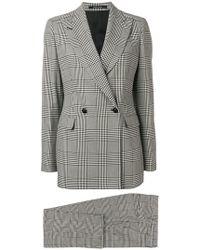 Tagliatore - Plaid Two-piece Suit - Lyst