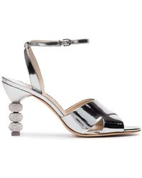 Sophia Webster - Natalia Crystal Embellished Sandals - Lyst