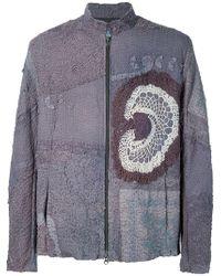 By Walid | Crochet Insert Zipped Jacket | Lyst