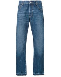 classic straight jeans - Blue Alexander McQueen uVLgb3