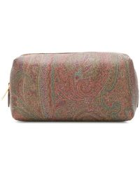 Etro - Paisley Embroidered Make-up Bag - Lyst