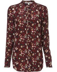 Veronica Beard - Floral Print Shirt - Lyst