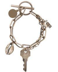 Ann Demeulemeester - Charm Bracelet - Lyst