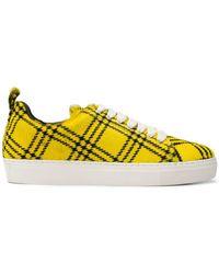 Marques'Almeida - Tartan Low-top Sneakers - Lyst