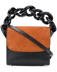 Marques'Almeida - Contrast Flap Chain Handle Bag - Lyst