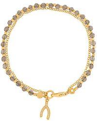 Astley Clarke - Wishbone Biography Bracelet - Lyst