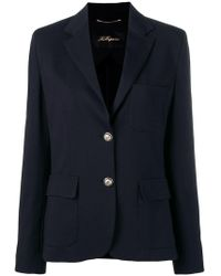 Les Copains - Classic Single-breasted Blazer - Lyst