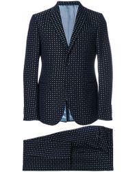 Gucci - Zweiteiliger Anzug mit aufgesticktem Blumenmuster - Lyst
