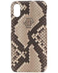Philipp Plein - Coque d'iPhone en peau de python - Lyst