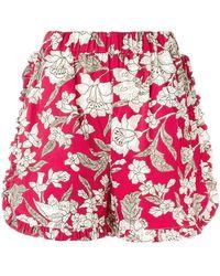 LaDoubleJ - Lilium Ruffle Shorts - Lyst