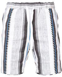 lemlem - Shorts con motivo de rayas verticales - Lyst