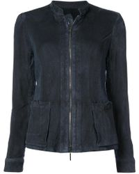 Emporio Armani - Fitted Jacket - Lyst