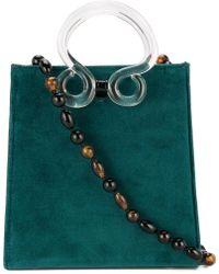 Lizzie Fortunato - Clear Handle Shoulder Bag - Lyst