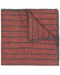 Eleventy - Striped Pattern Scarf - Lyst