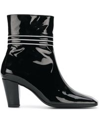 Dorateymur - Varnished Ankle Boots - Lyst