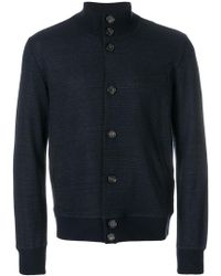 Paolo Pecora - Buttoned Lightweight Jacket - Lyst
