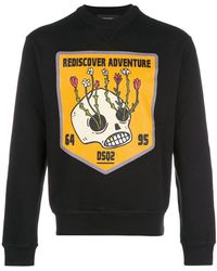 DSquared² - Rediscover Adventure Print Sweatshirt - Lyst