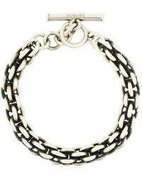Henson - Large Cage Link Bracelet - Lyst