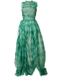 5abac6c759 Women's Ermanno Scervino Maxi and long dresses Online Sale - Lyst
