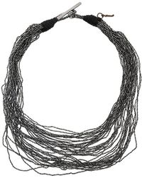 Fabiana Filippi - Multi Strand Necklace - Lyst
