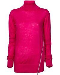 Sacai - Roll-neck Sweater - Lyst