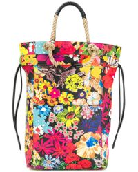 Ports 1961 - Floral Print Rope Handle Tote Bag - Lyst