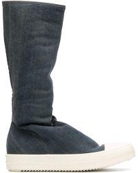Rick Owens Drkshdw - Tall Sneaker Boots - Lyst
