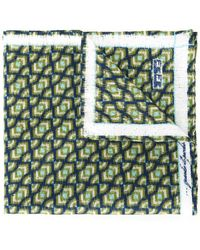 Fefe - Printed Pocket Square - Lyst