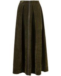 Uma Wang - Front Pleat Full Skirt - Lyst