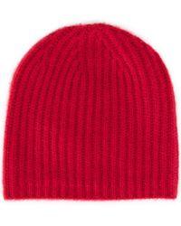 Warm-me - Ribbed Beanie - Lyst