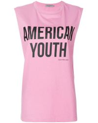 Calvin Klein Jeans - American Youth Printed T-shirt - Lyst