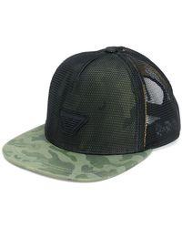 Emporio Armani | Camouflage Logo Cap | Lyst