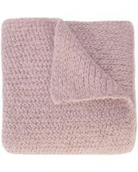 Rachel Comey - Fuzzy Knit Blanket Scarf - Lyst