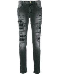 Just Cavalli - Skinny-Jeans im Distressed-Look - Lyst